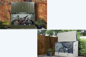 Spécial Abri à vélos 100 % Secure (Couleur Verte ou crème)